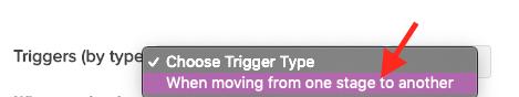 trigger type